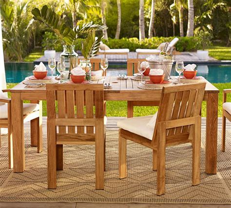 Exterior Furniture Stain by How To Stain Outdoor Furniture Pottery Barn