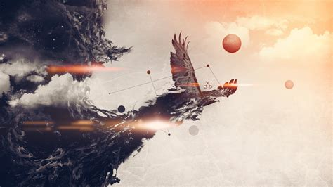 abstract eagle wallpaper burning eagle art id 50461
