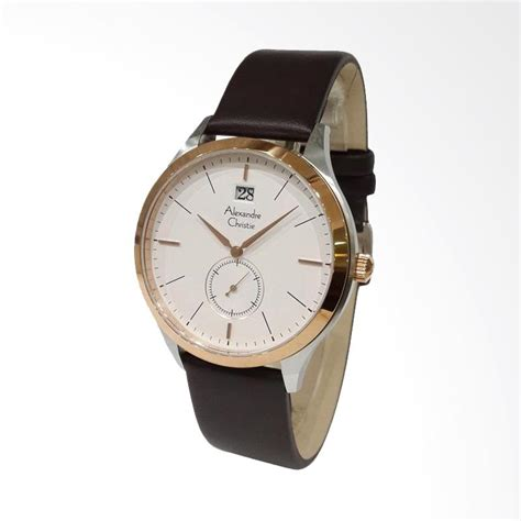 Jam Tangan Alexandre Christie Pria jual alexandre christie jam tangan pria silver gold