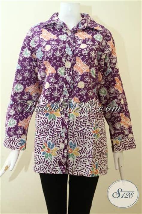 Celana Batik Wanita Modern 120 Iu pakaian batik blus modern mewah harga bawah baju batik wanita cocok untuk kerja dan kondangan