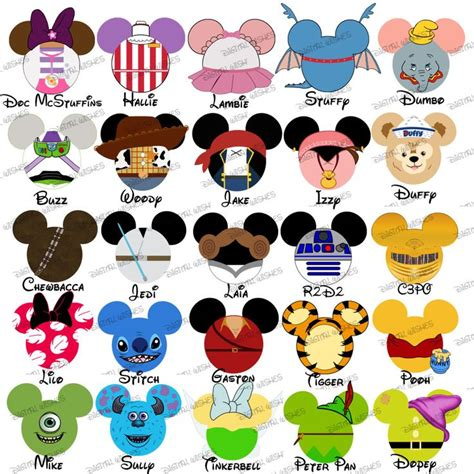 disney clipart disneyland clipart disney vacation pencil and in color