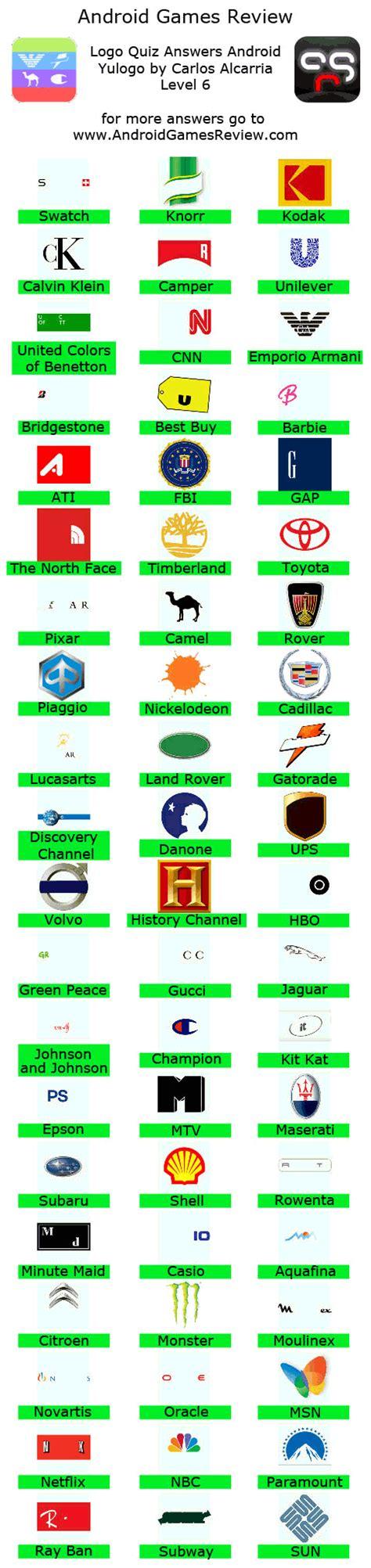 level 6 answer answers level 6 logos quiz answers level 7 logos quiz