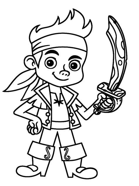 dibujos para pintar jake y los piratas jake y los piratas de nunca jamas dibujos animados