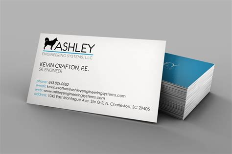 engineering card template sle llc business cards images card design and card