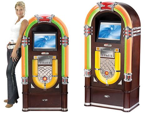 Crosleys Digital Jukebox With Itunes Interface And Server by Rocola Digital Con Interfaz Itunes Y Conectividad Para