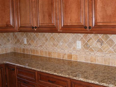 travertine backsplash kitchen makeover ideas