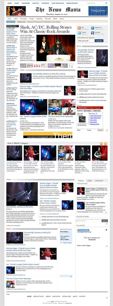 blogger news templates free download top 10 hits info 2014 2015 top ten movies music