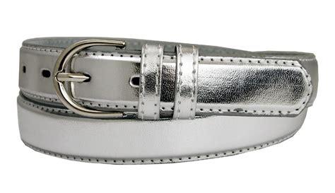 188 silver s dress belt 1 1 8 quot wide