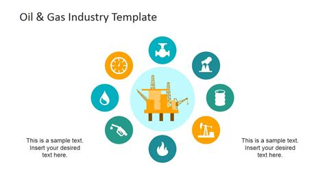 powerpoint templates for retail industry oil and gas industry players slide design slidemodel