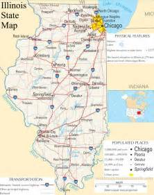 Illinois Maps by Map Of Illinois Related Keywords Amp Suggestions Map Of