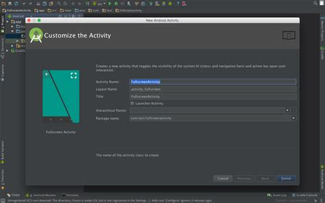 android studio layout full screen fullscreen activity in android stack overflow