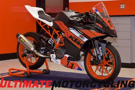 Ktm 390 Race Bike Motoamerica Ktm Rc390 Cup Bike Specs Exclusive Photos Right
