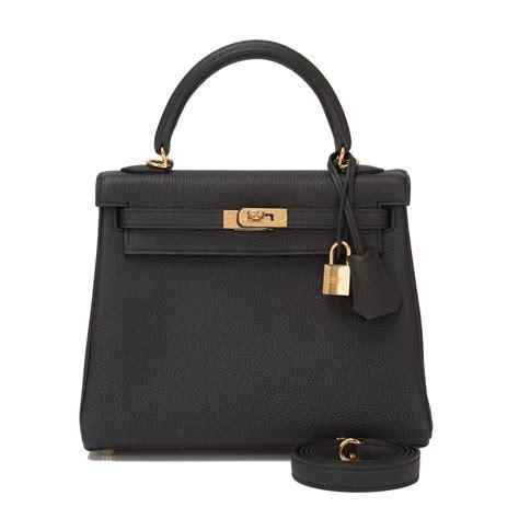 hermes bag 25cm black togo gold hardware world s best