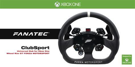 volante fanatec xbox one fanatec forza motorsport racing wheel unveiled virtualr