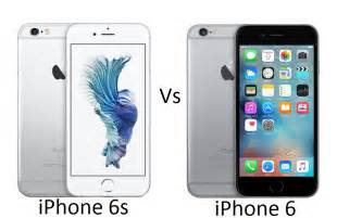 apple iphone 6s vs apple iphone 6 what s new