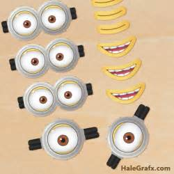 free printable despicable 2 minion goggles mouths