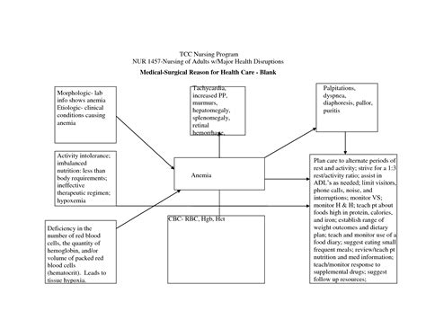 free nursing concept map template best photos of nursing diagnosis concept map template