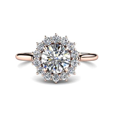 1ct engagement ring conflict free by rareearth