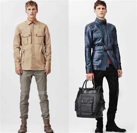 Designers Start Menswear Season In by Belstaff 2014 Summer Mens Collection Denim