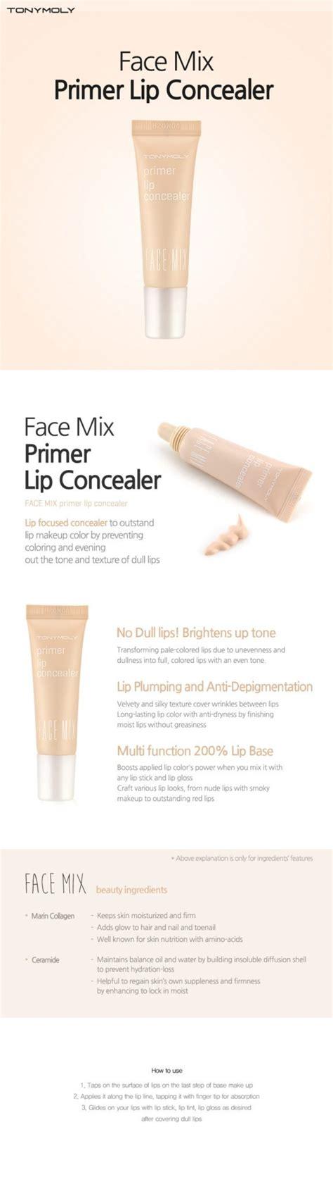 Tonymoly Mix Skin Foundation tonymoly mix primer lip concealer korean cosmetic