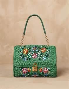 dolce gabbana crochet bag bags