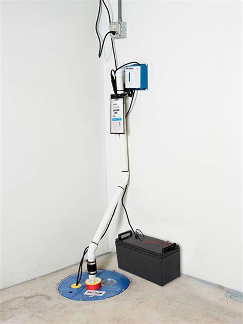 sump pump systems installation cochrane calgary chestermore