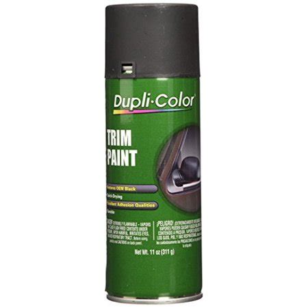 dupli color black dupli color tp70 black trim paint flat 11 oz walmart