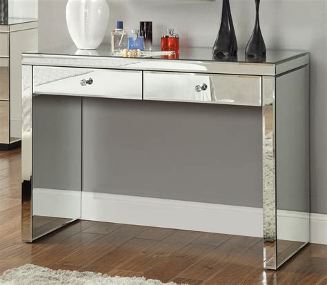 Hallway Table With Mirror Mirrored Console Hallway Dressing Table Mirror Furniture