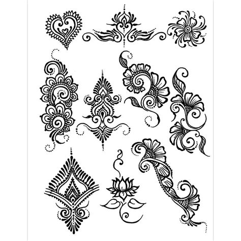 henna tattoo tribal designs cross 17 best images about simple henna designs on