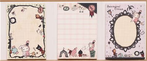 imagenes de sentimental circus libro mini blocs de notas kawaii sentimental circus de san