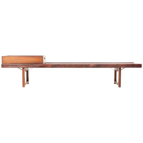 rosewood bench rosewood bench by torbj 248 rn afdal for bruksbo for sale at