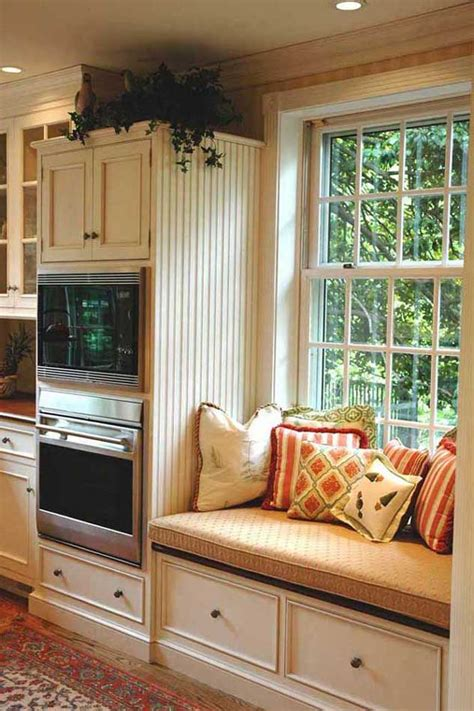 comfy window reading nook   side   white
