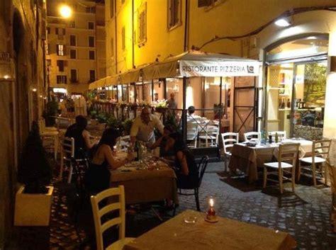 ci de fiori ristorante co de fiori rome restaurant reviews