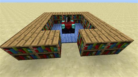 how many bookshelves for max enchantment minecraft how to build a enchanting table arqade