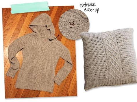 How To Make A Sweater Pillow by 1000 Images About Pillows Diy On Coral