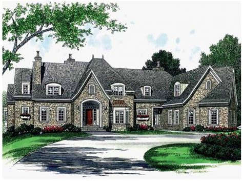 dream home source com french country house plan with 7238 square feet and 6