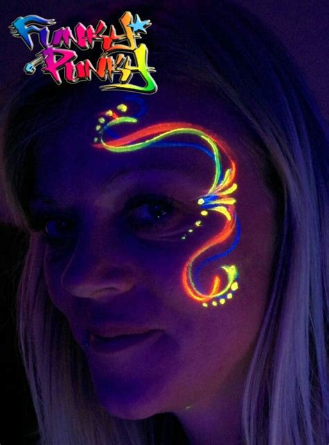 glow in the paint kzn the 25 best uv makeup ideas on black light