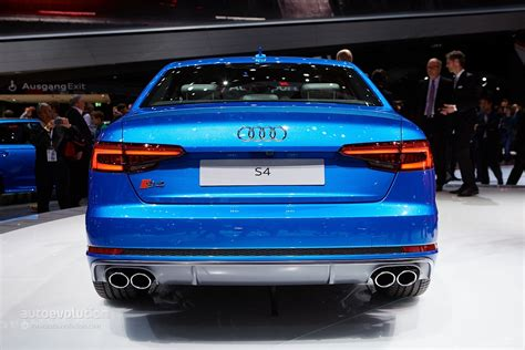 2016 audi s4 0 60 2018 audi s4 specs and pricing announced in the us 0 to