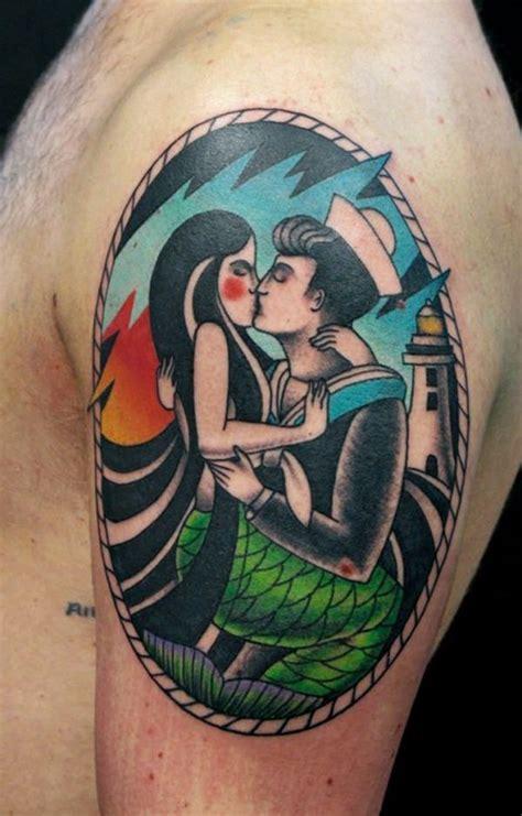 unexpected mermaid tattoo designs
