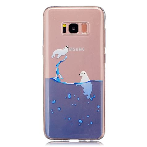 Soft Phone Samsung J7 2017 J720 Pelindung Casing Cover slim patterned clear soft tpu protective cover for