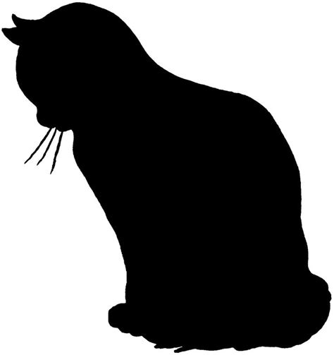 cat silhouette template 17 best ideas about cat silhouette tattoos on