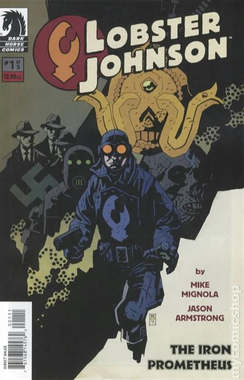 lobster johnson volume 5 lobster johnson the iron prometheus 2007 comic books