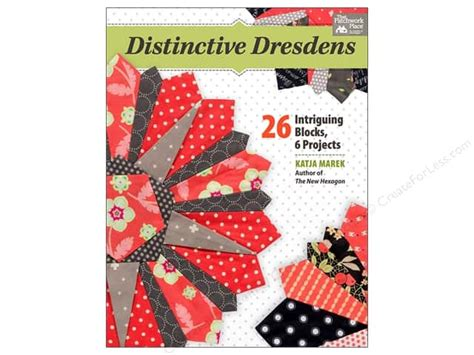 Patchwork Place Books - distinctive dresdens book createforless