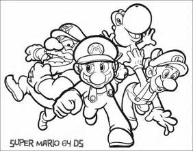 printable super mario coloring pages archives