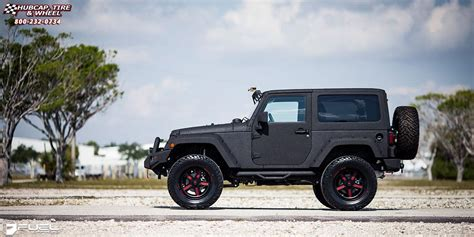jeep matte red jeep wrangler fuel forged ff20 wheels matte black matte red
