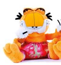 Expedition E 6658 M Blsvbl peluche garfield plushtoy