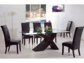 Contemporary Glass Dining Room Table Modern Dining Room Tables D S Furniture