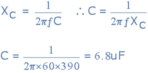 ac capacitor charging equation capacitance in ac circuit and capacitive reactance