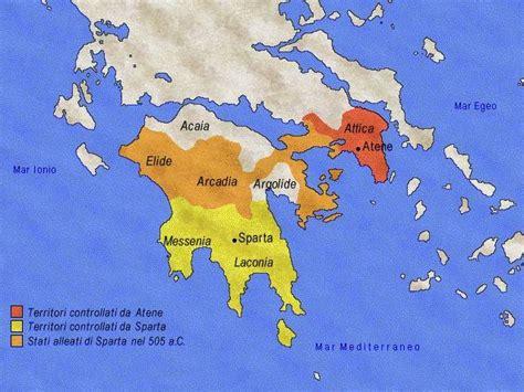 ricerca sui persiani lo stato di sparta history web