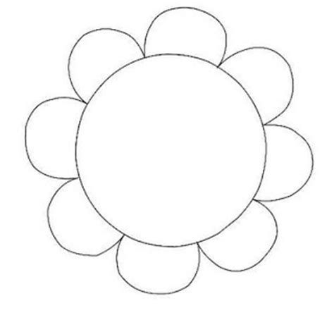printable flowers clipart flowers blog 187 printable flower outline cliparts co